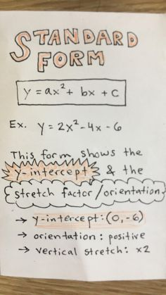 quadratics booklet 2